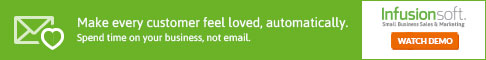Infusionsoft - Make every customer feel loved, automatically